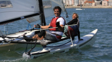 1º passeio Hobie Cat, 19Jan 2020